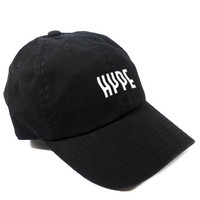HYPE DAD HAT - BLACK