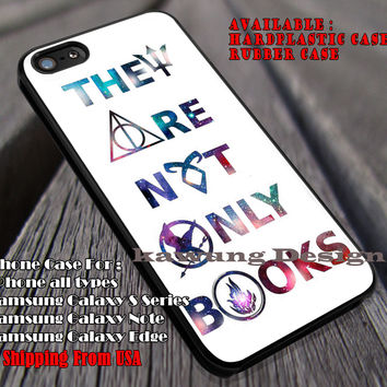 Not Only Books | Harry Potter iPhone 6s 6 6s+ 6plus Cases Samsung Galaxy s5 s6 Edge+ NOTE 5 4 3 #movie #HarryPotter ii