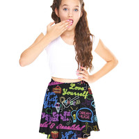 Girls You Can Sit With Us Skater Skirt