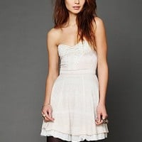 Free People Twinkle and Twirl Fit and Flare Dress