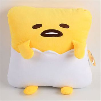 Anime Pelucia Gudetama Lazy Egg Plush Peluche Kids Toys Brinquedos Gudetama Toy For Children Gifts Juguetes 30*15*30 cm