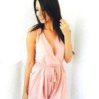 Aylul Playsuit- Mauve