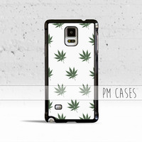 Marijuana Weed Leaf Pattern Case Cover for Samsung Galaxy S3 S4 S5 S6 Edge Plus Active Mini Note 1 2 3 4 5