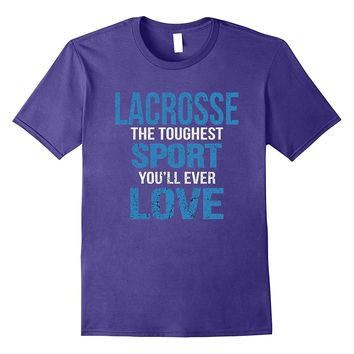 Lacrosse Girl Tshirt - Lacrosse Gifts for Girls