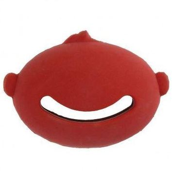 """HERO Natural Rubber Face Chew Puppy & Sm Dog Toy 3.5"""""""