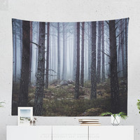 Forest Tapestry, Nature Wall Tapestry, Wall Decor, Wall Art, Wanderlust, Home Decor, Boho, Livingroom Decor, Bedroom Decor, Gift, Large