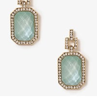 Bold Emerald Cut Earrings
