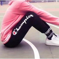 Champion women's casual sports trousers