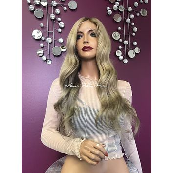 Balayage Blond Full Lace Wig - Radiant
