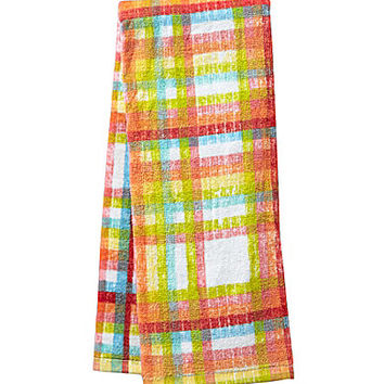 Fiesta Mad Gingham Kitchen Towel - Multi