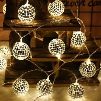 String Lights Moroccan Ball 10/20 LED