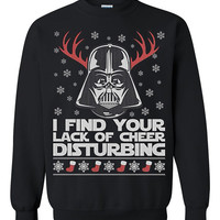 Star wars darth vader Ugly Christmas Sweater sweatshirt Unisex Adults