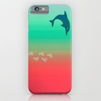 A day at the beach iPhone & iPod Case by Laura Santeler