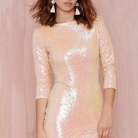 Glamorous Shine Down Sequin Dress