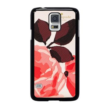 KATE SPADE CAMEROON STREET ROSES Samsung Galaxy S5 Case