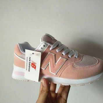 DCCK1IN new balance 574 women sport casual n words sneakers running shoes
