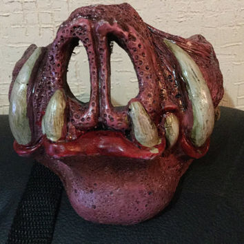 Pig mask fiberglass not breaks pork custom scary excellent offer