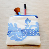 Gift-for-Woman/ Make Up Bag/ Gift for Her/ Co Worker Gift/ Pencil Case/ Gift for Mom/ Gift for Wife/ Sister Gift/ BFF Gift/ Bridesmaid Gift
