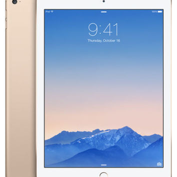 "Apple iPad Air 2 16GB 9.7"" Retina Display Wi-Fi Tablet w/Touch ID - New & Sealed"