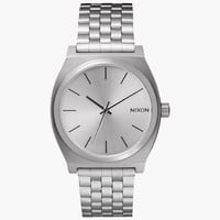 Nixon Time Teller Watch All Silver One Size For Men 25993514001
