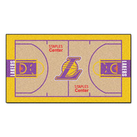 Los Angeles Lakers NBA 2x4 Court Runner (24x44)