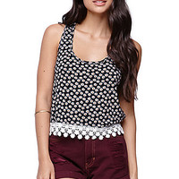 LA Hearts Crochet Trim Racer Tank at PacSun.com