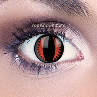 Devil Eyes Contact Lenses | Fire Dragon Contact Lenses
