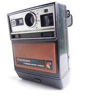 Vintage Kodak Colorburst 100 Camera -  1970s Instant Camera, Original Box, & Directions / Retro Photograpghy