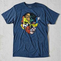 Marvel Faces Tee- Navy