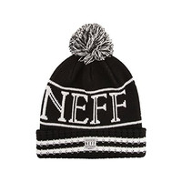 neff Men's Evan Beanie, Black, One Size