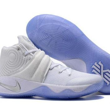 ONETOW Nike Kyrie Irving 2 White Sport Shoes US7-12