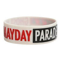 Mayday Parade Ghost Rubber Bracelet