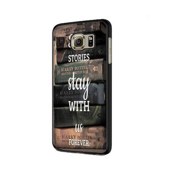 Harry Potter Book Samsung Galaxy S6 | S6 Edge Cover Cases