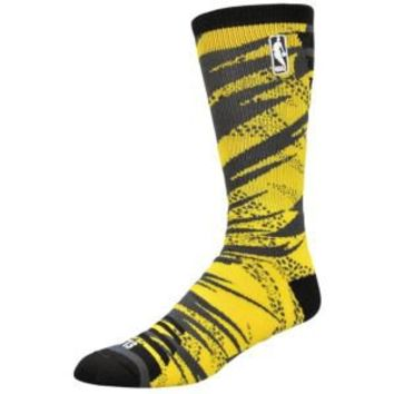 For Bare Feet NBA Camo Bright Crew Sock - Men's at Foot Locker