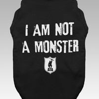 Dogs | I Am Not A Monster Text | Tank Top