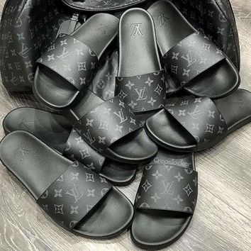 Louis Vuitton LV Casual Fashion Women Sandal Slipper Shoes