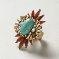 Chariot Ring by Samantha Wills Turquoise One Size Jewelry