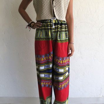 Ethnic Aztec African Printed Trouser Pants