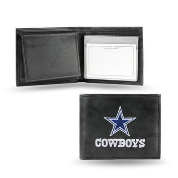 Dallas Cowboys Embroidered Billfold Wallet