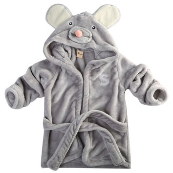 Cute Newborn Baby Clothes Animal Baby Boy Girls Bathrobe baby hooded bath towel Robes