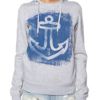 BILLABONG SHIPWRECKED PULL OVER HOOD - GREY MARLE