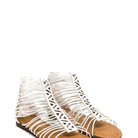 Try Zig Zags Caged Sandals GoJane.com