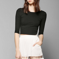 Knot Sisters Carlie Lattice-Hem Skirt - Urban Outfitters