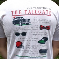 Tradition of the Tailgate in White by Southern Proper