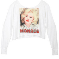 Marilyn Monroe Red Studs Long-Sleeve