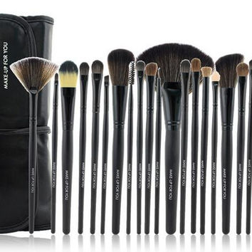 Top Quality Professional 24Pcs Makeup Brushes Set Cosmetic Tool Beauty Womens Gift 11