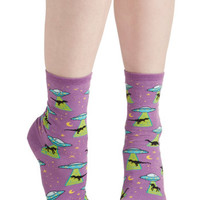 ModCloth Sci-fi Space for Style Socks