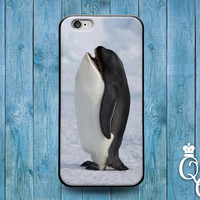 iPhone 4 4s 5 5s 5c 6 6s plus iPod Touch 4th 5th 6th Generation Cute Custom Funny Penguin Killer Whale Fish Snow Ice Winter Phone Cover Case