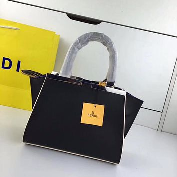 Fendi 3 Jours Bag, Black