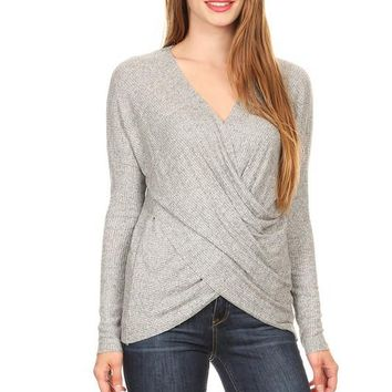 Hamptons Brushed Knit Sweater